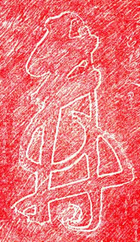 """""""Langlebigkeit"""" - Kalligraphie von Lü Dong Bing, Baiyun Guan, Beijing"""